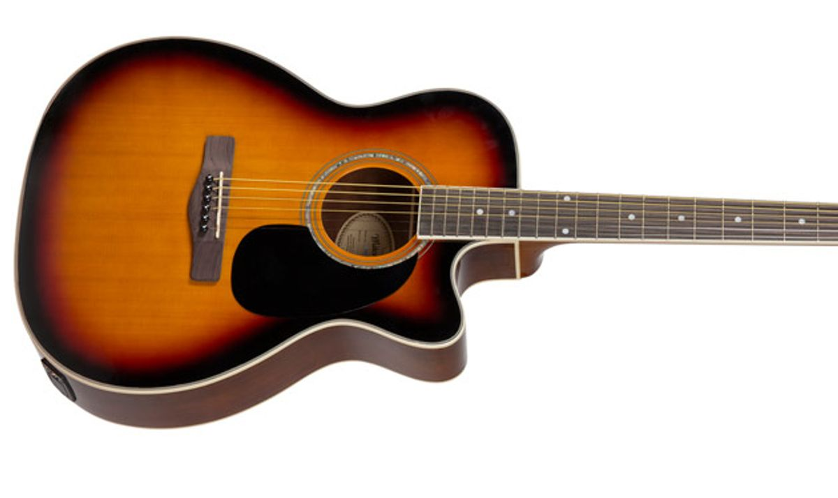 Mitchell Introduces the MO120CESB Acoustic-Electric Guitar