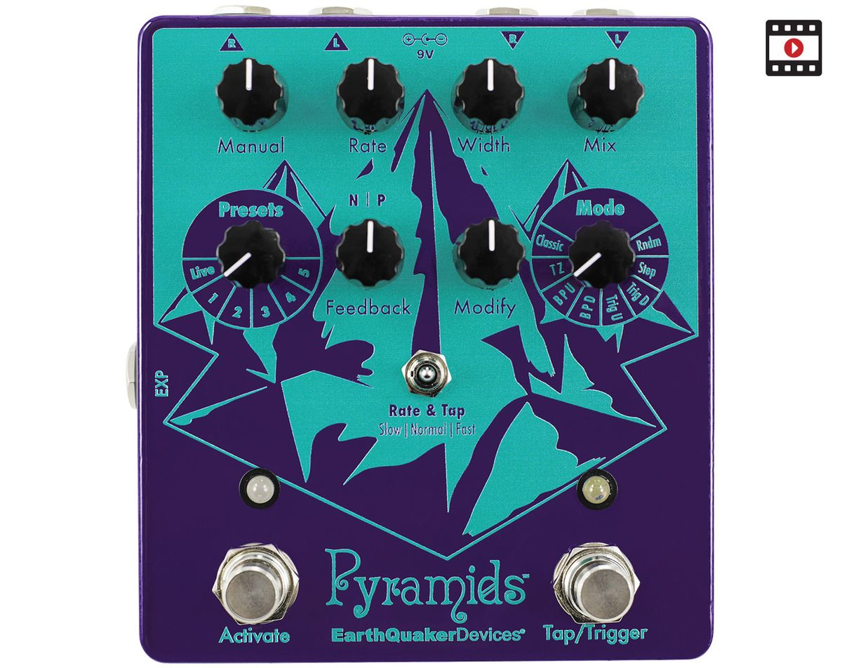 EarthQuaker Devices Pyramids Review