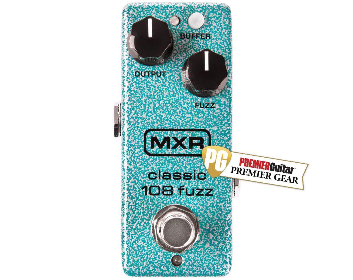 Quick Hit: MXR Classic 108 Fuzz (Mini) Review