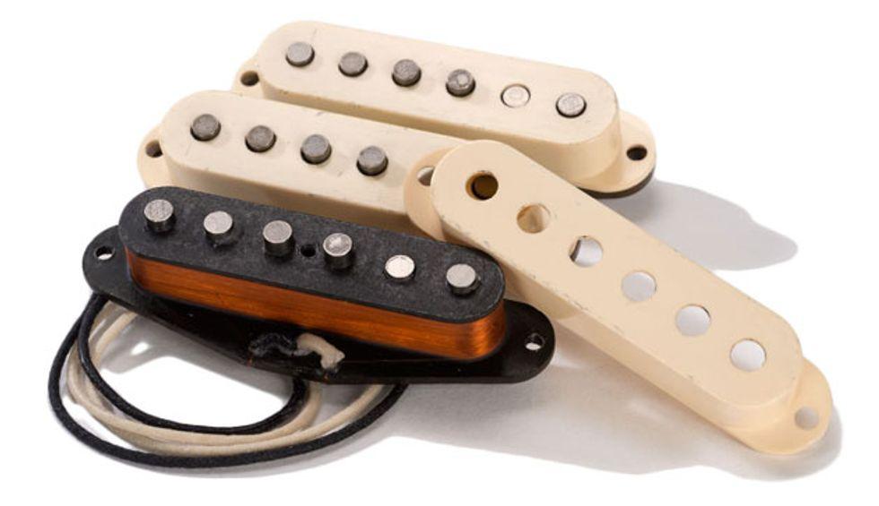 ThroBak Electronics Announces the'63 MXV Stratocaster Pickup