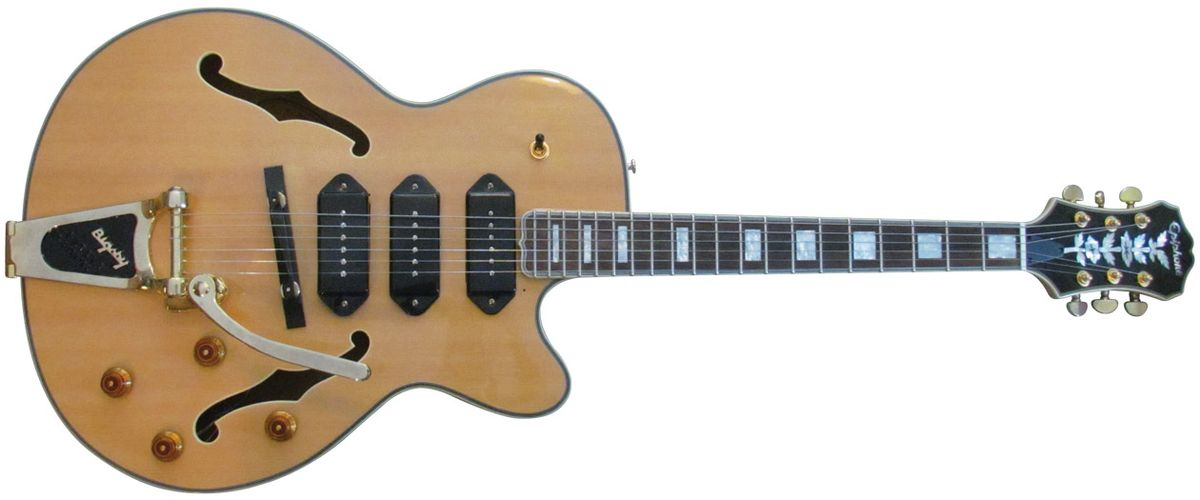 Will Ray's Bottom Feeder: Modified Epiphone Joe Pass Emperor II