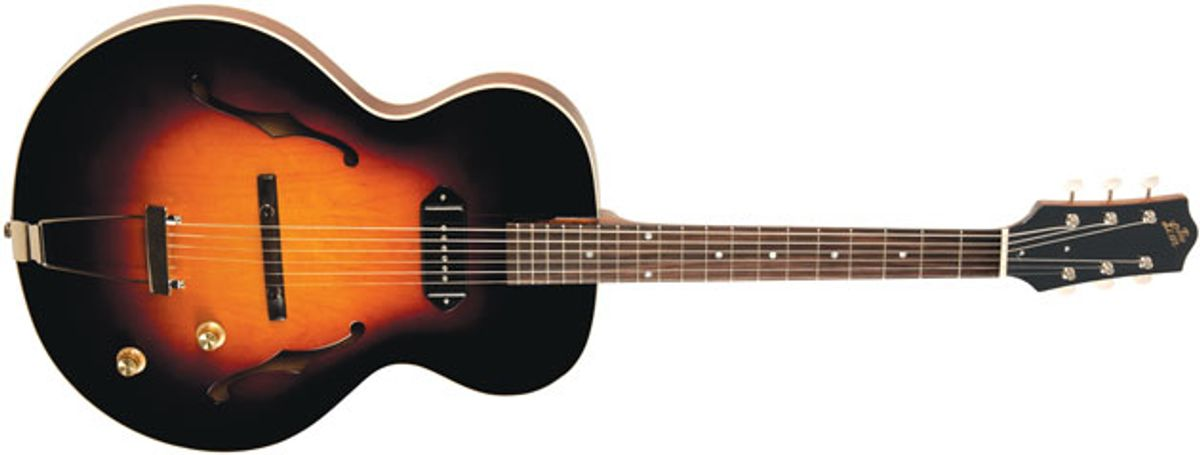 The Loar Introduces the LH-301T Thinbody Archtop