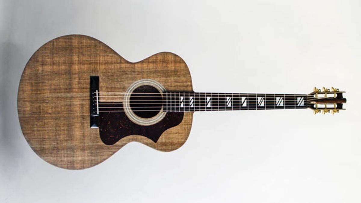 Blackbird Guitars Announces the El Capitan