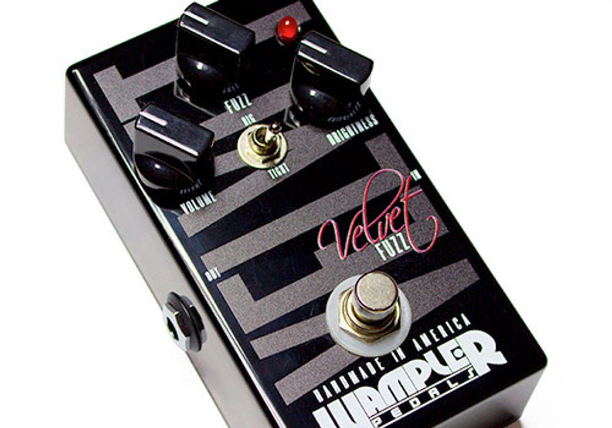 Wampler Announces Velvet Fuzz Pedal
