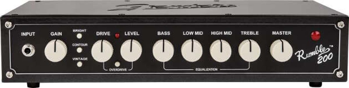 Fender Announces All-New Rumble Bass Amp Series