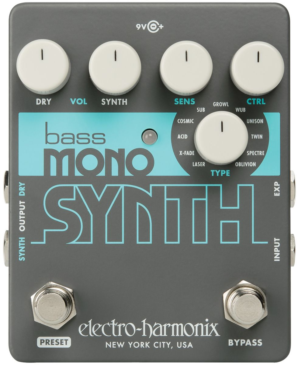 Electro-Harmonix Bass Mono Synth Review