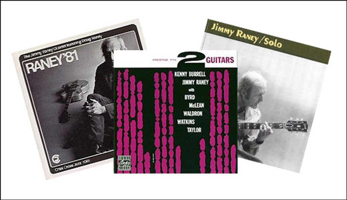 Beyond Blues: What Would Jimmy Raney Do?