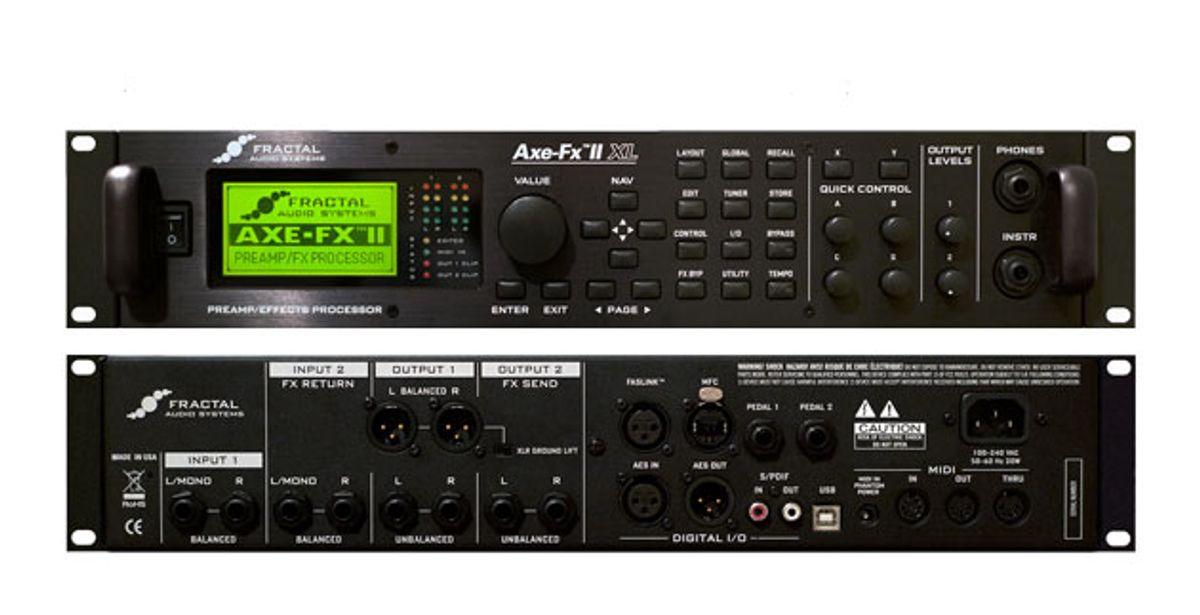 Fractal Audio Announces Axe-Fx II XL