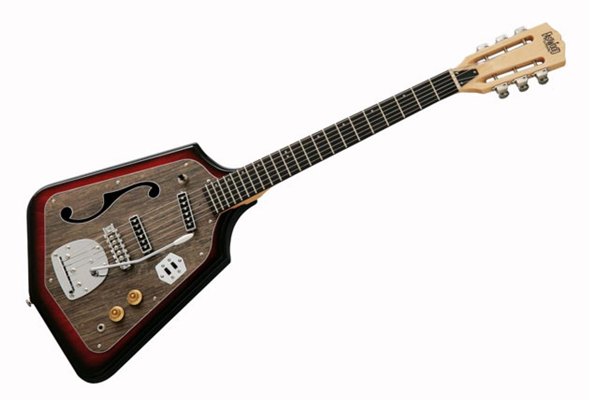 Eastwood Guitars Releases the California Rebel