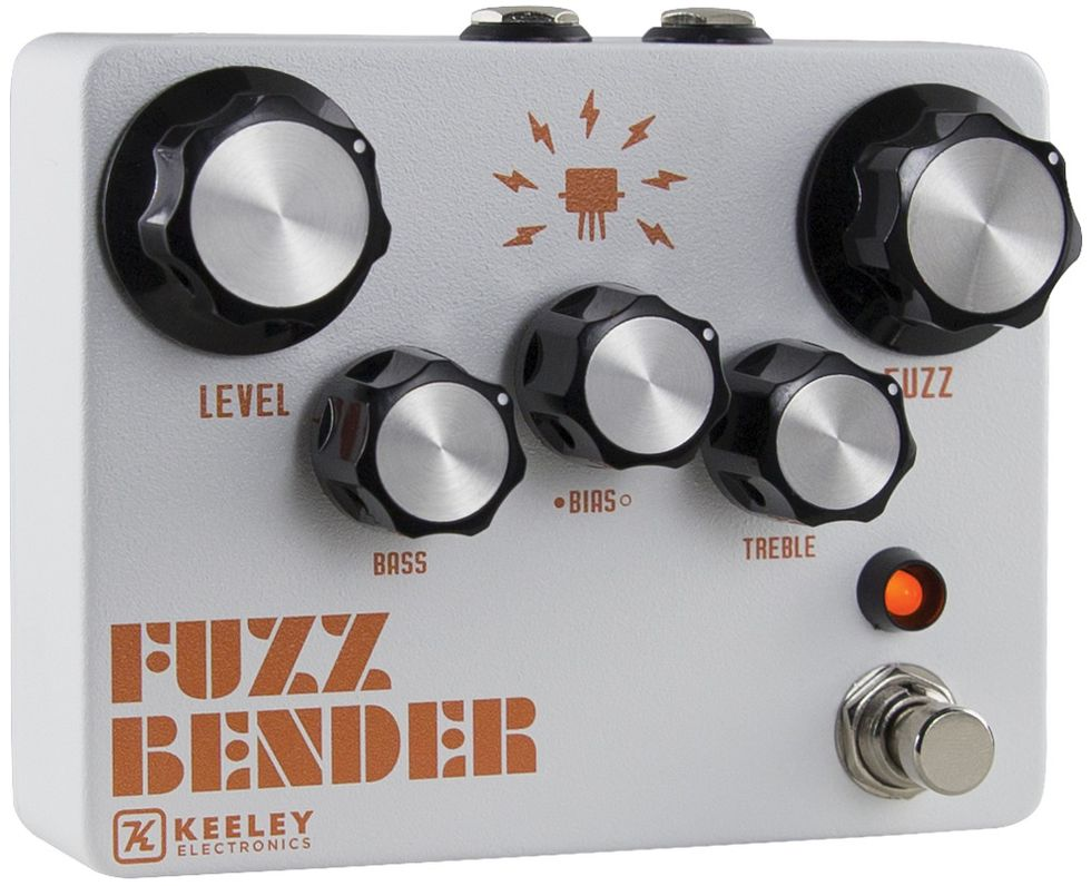 Keeley Fuzz Bender homepage