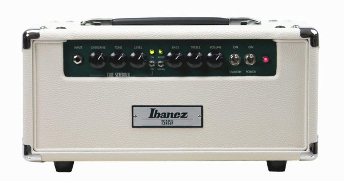 Ibanez Tube Screamer Amp TSA15H Review