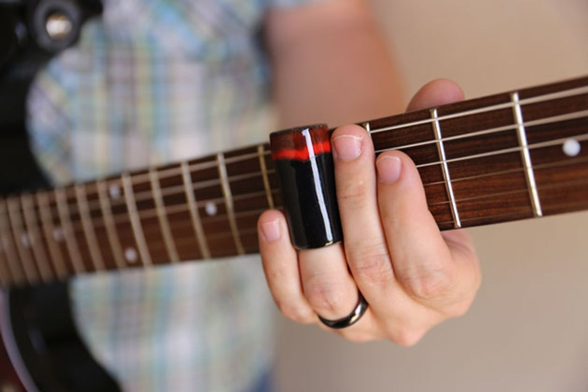 Drone Logic: Learn to Play Slide Guitar in Tune