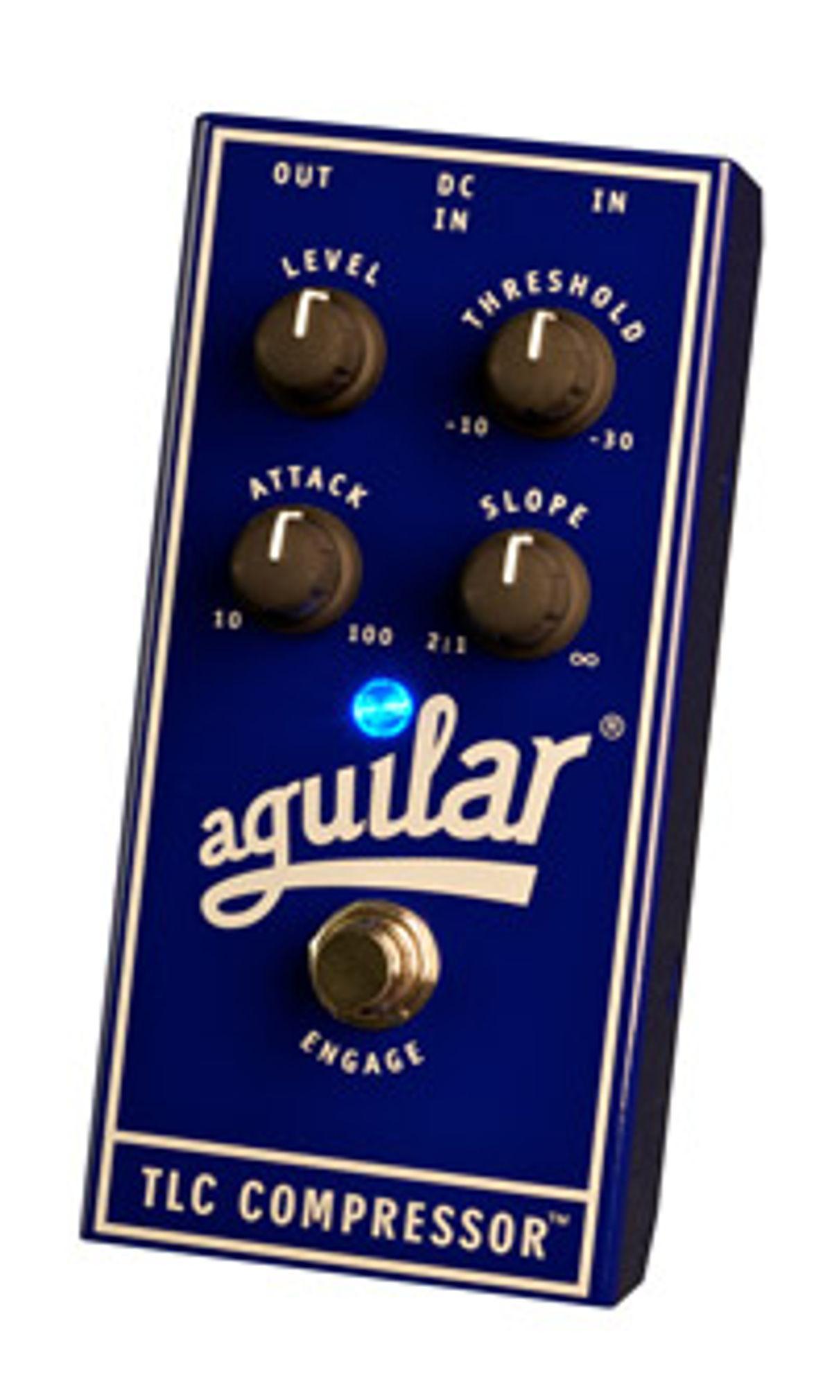 Aguilar Amplification Announces TLC Compressor