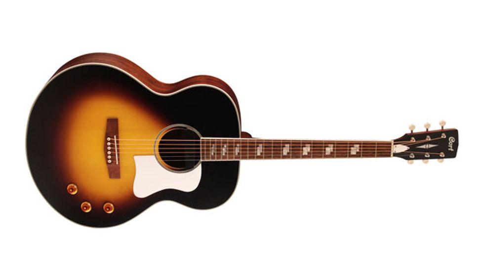 Cort Announces the CJ-Retro Jumbo Acoustic-Electric