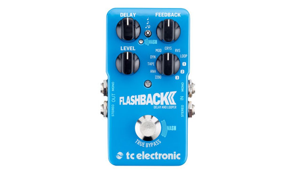 TC Electronic Unveils the Flashback 2 Delay