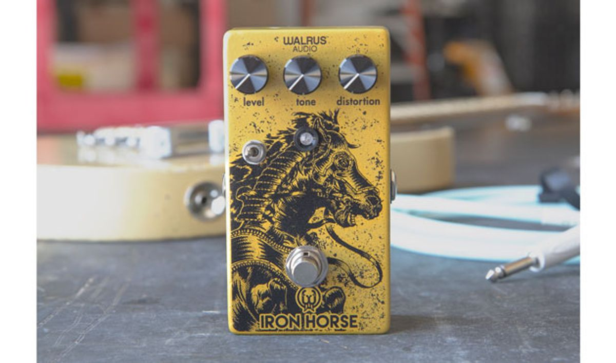 Walrus Audio Releases the Iron Horse Distortion V2