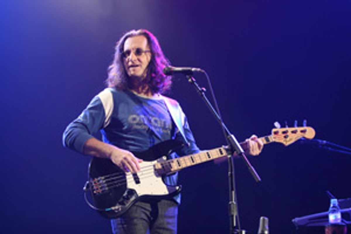 Geddy Lee to Play Orange Bass Amps on Tour