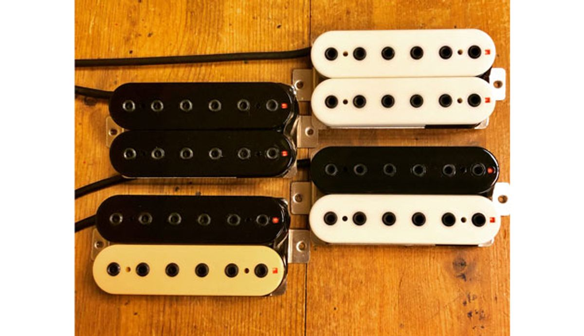 Mad Hatter Guitar Products Introduces the Electric Ed 13/8 Humbuckers