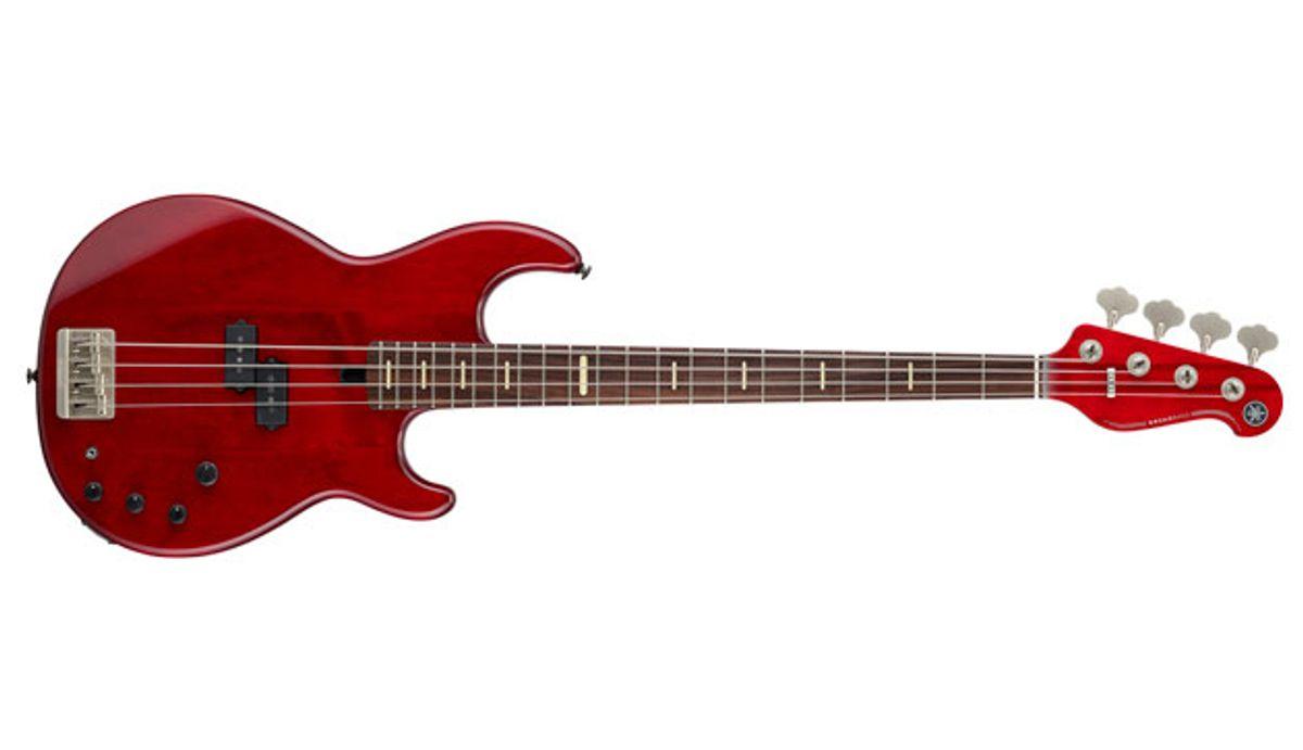 Yamaha Releases the Peter Hook Signature BB Bass