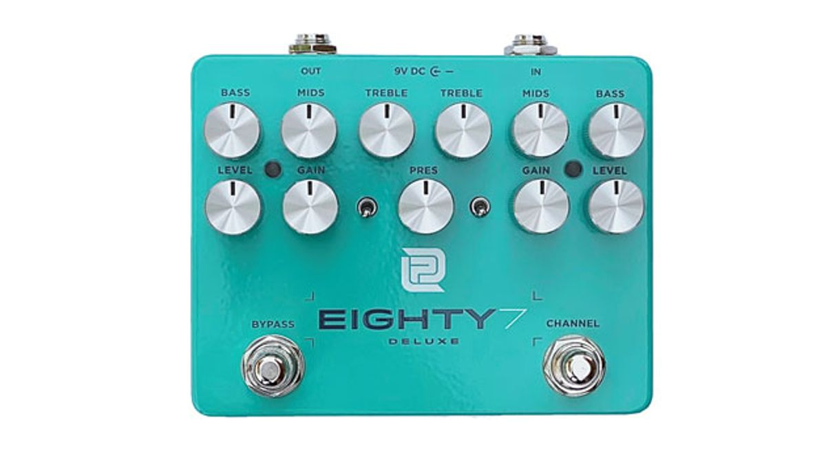LPD Pedals Unveils the New Eighty7 Deluxe