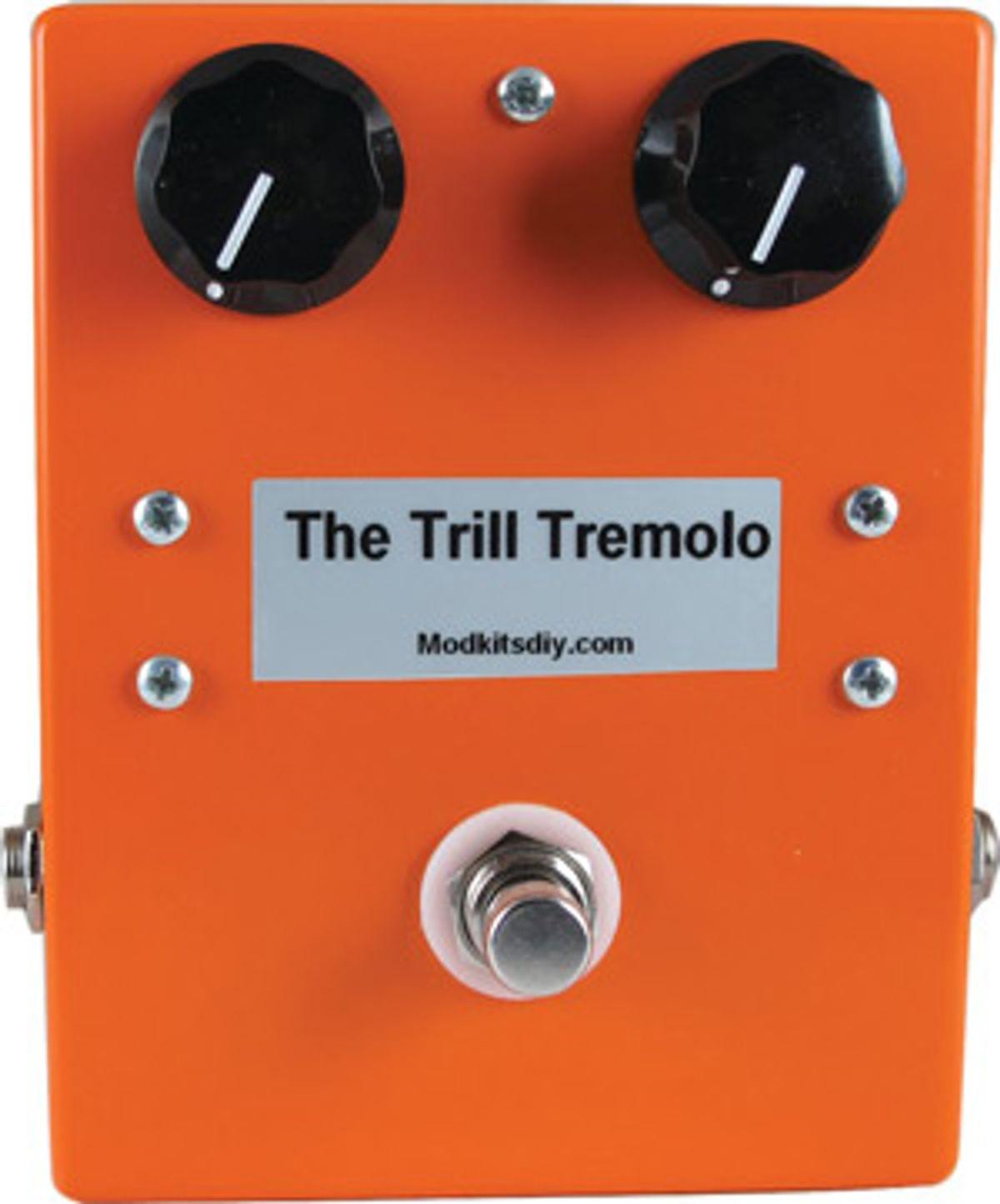 Mod Kits DIY Introduces Trill Tremolo Pedal Kit