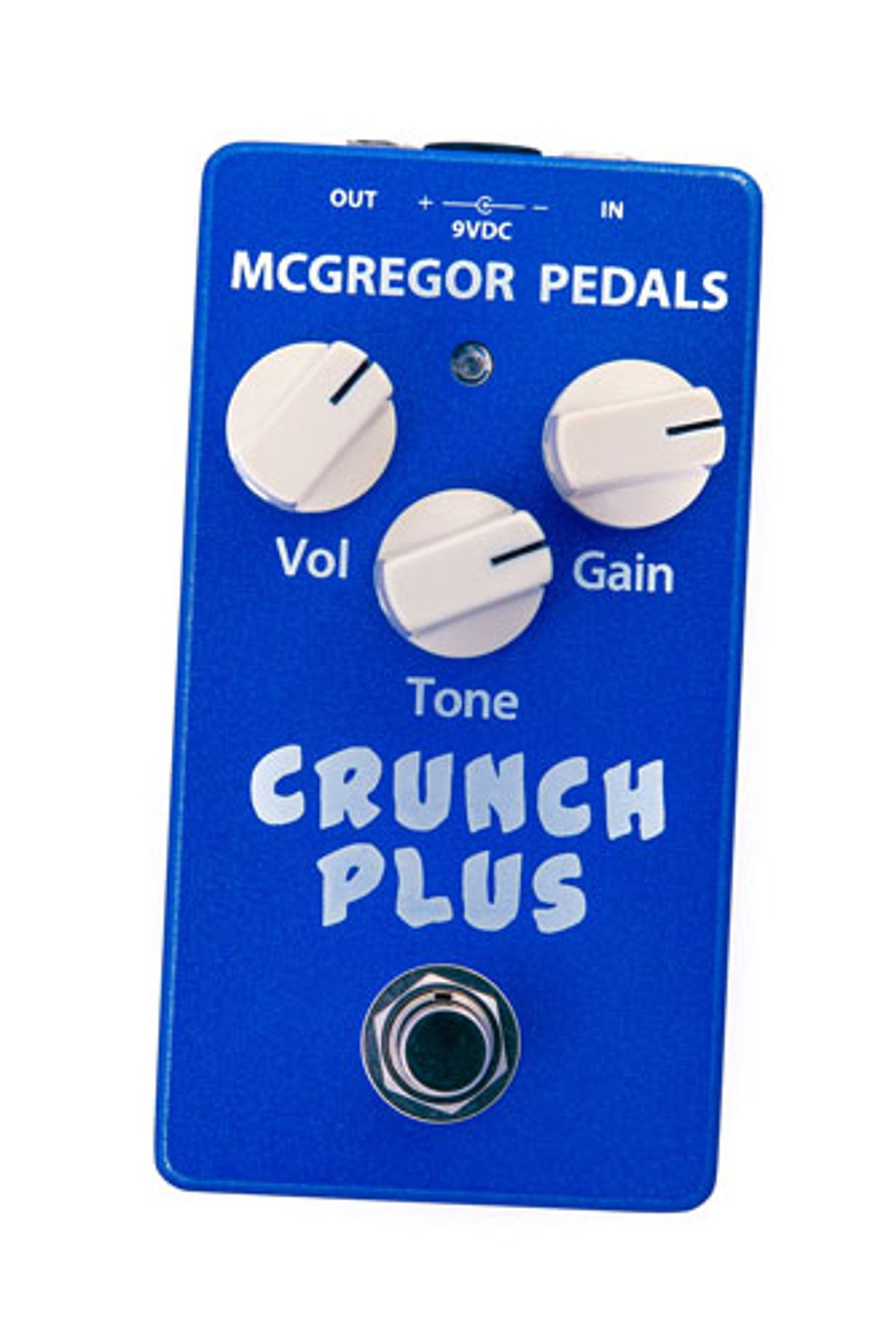 McGregor Pedals Releases the Crunch Plus Overdrive