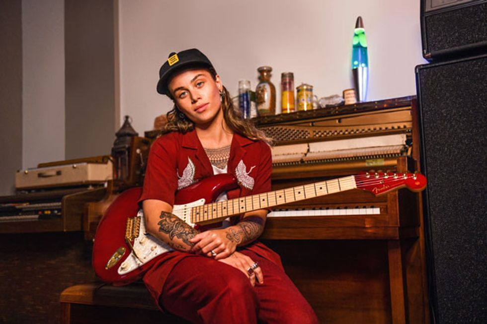 Fender Introduces the Tash Sultana Signature Stratocaster