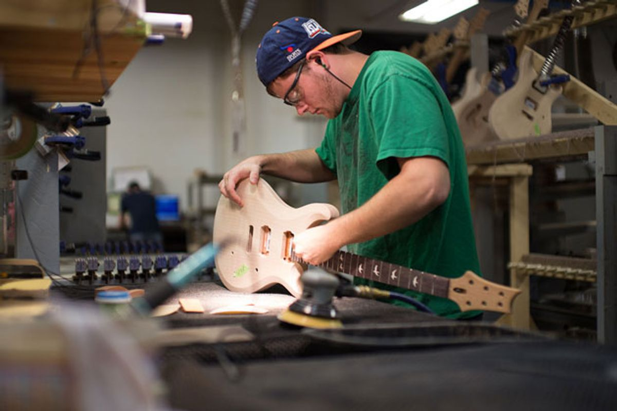 """PRS Guitars Announces the Opening of """"West Street East"""" and Start of Factory Tours"""