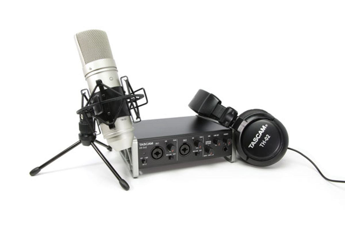 Tascam Unveils the Trackpack 2x2