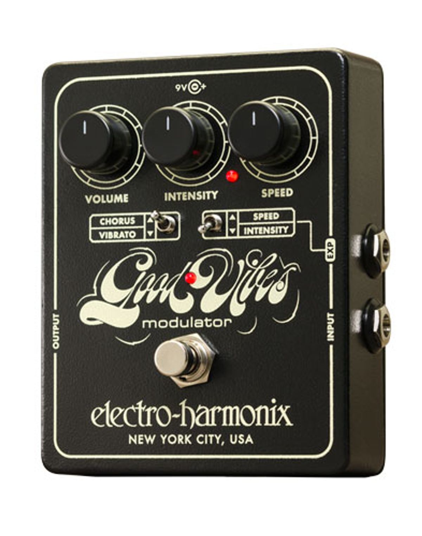 Electro-Harmonix Releases the Good Vibes Modulator