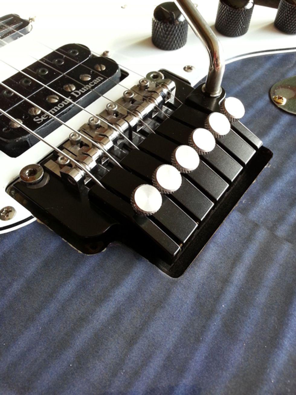 axmax introduces new tremolo system 2013 08 27 premier guitar. Black Bedroom Furniture Sets. Home Design Ideas