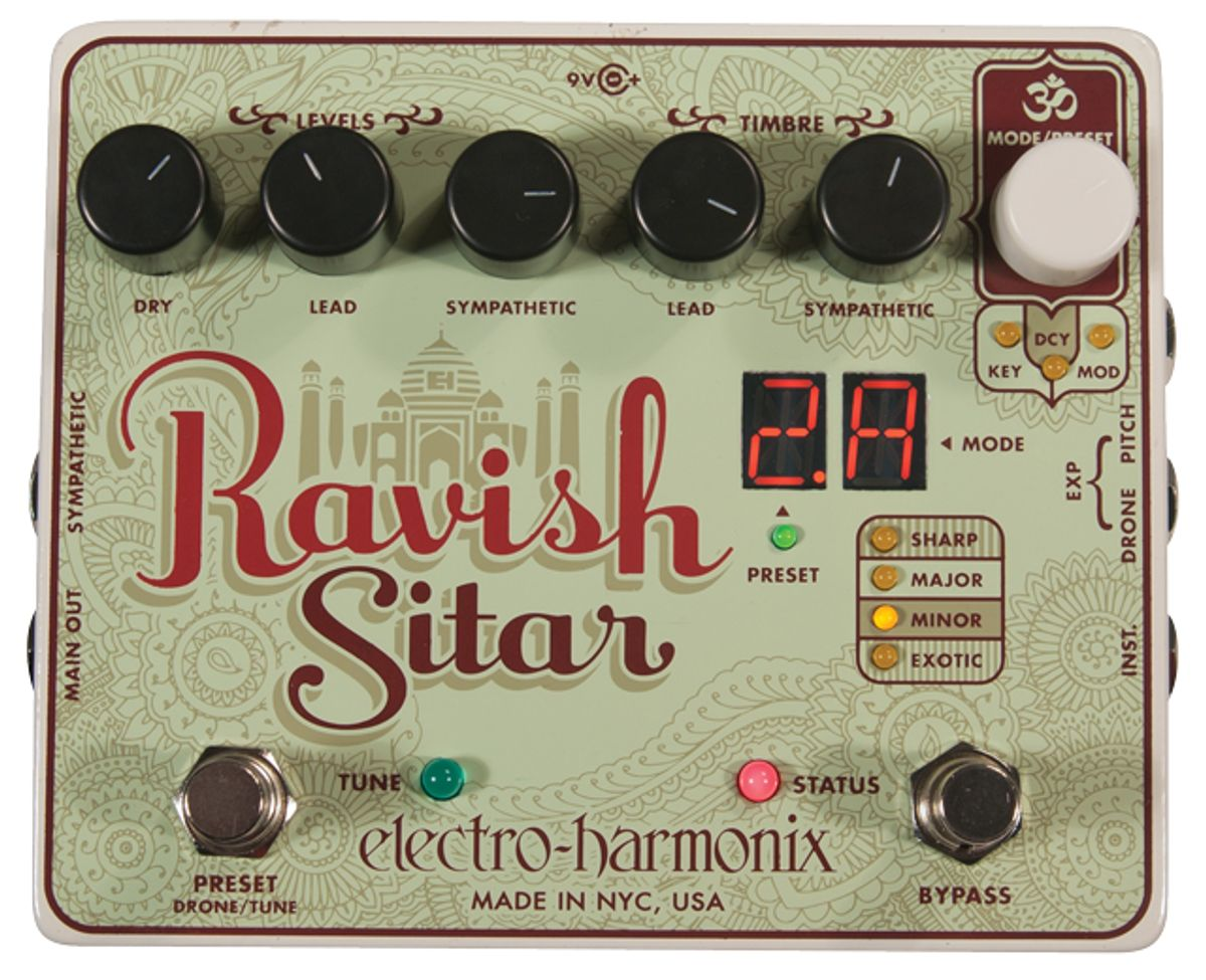 Electro-Harmonix Ravish Sitar Pedal Review