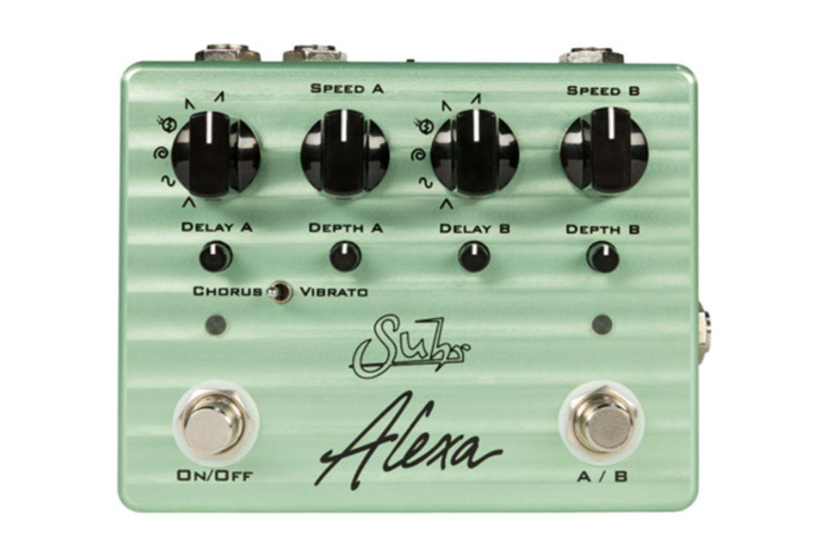 Suhr Announces the Alexa Chorus/Vibrato