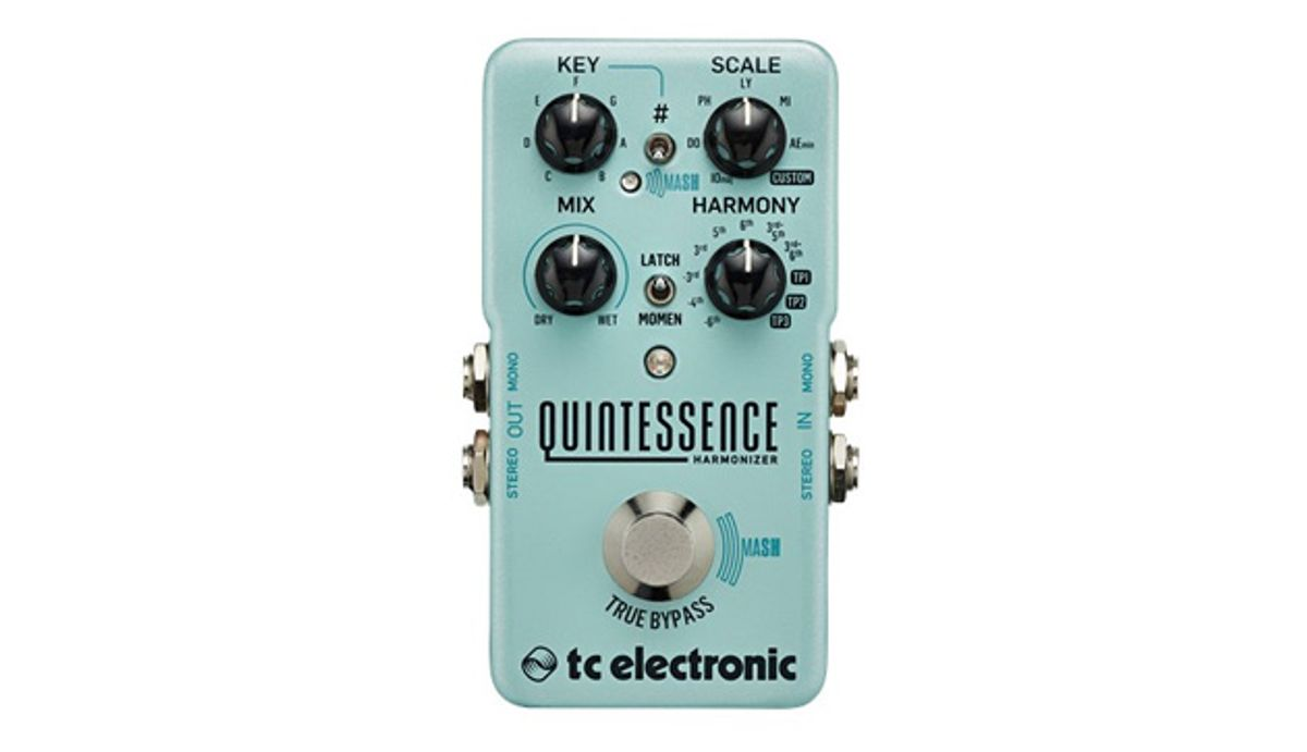 TC Electronic Announces the Quintessence Harmonizer
