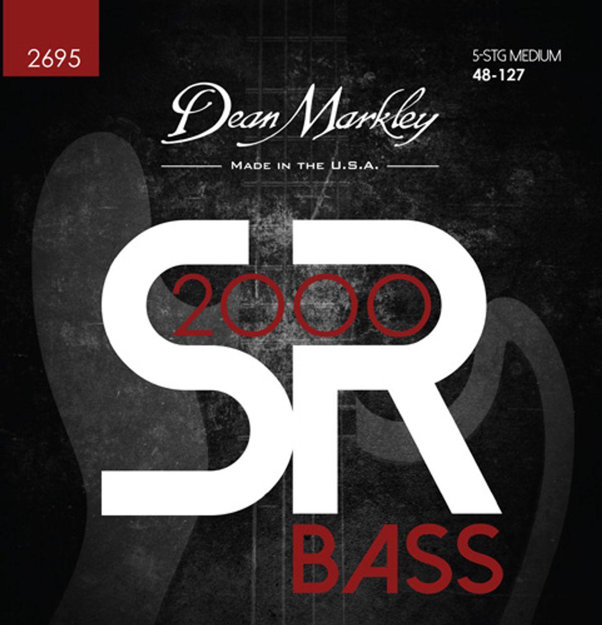 Dean Markley Unveils SR2000 Bass Strings