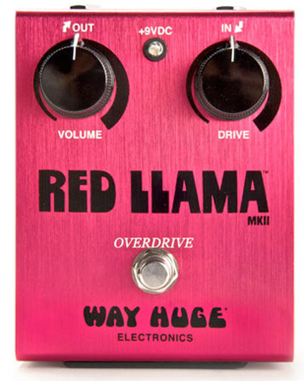Way Huge Red Llama Overdrive MkII Pedal Review
