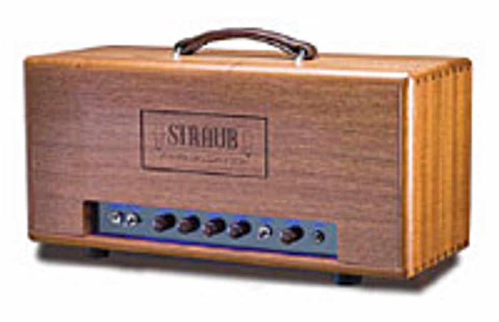 Straub Amplifiers Twisted Triode Amp