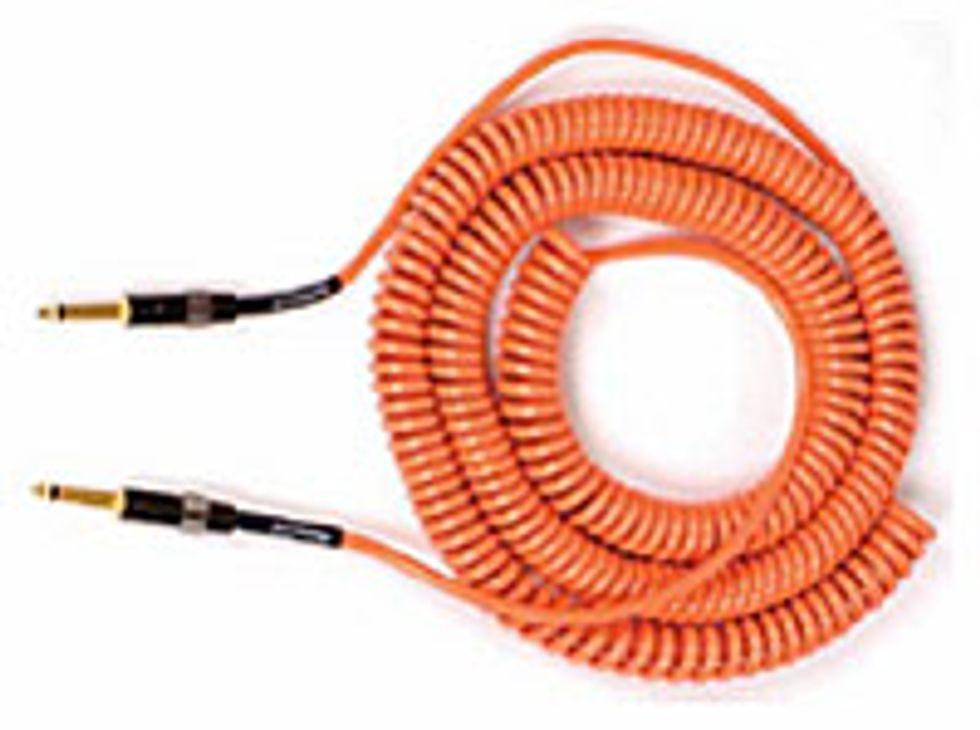 Lava Cable Retro-Coil Instrument Cable