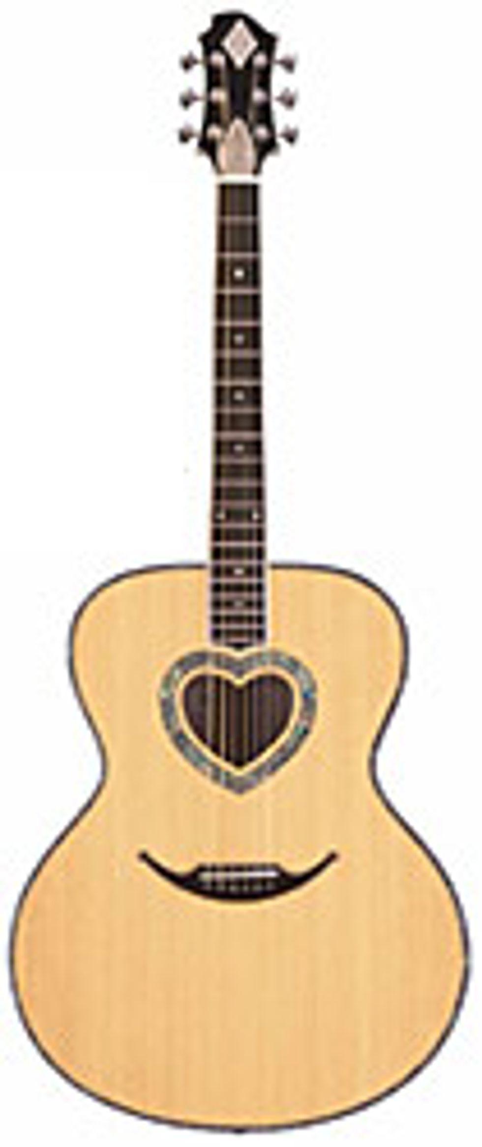 Zemaitis GZA Acoustic Guitars