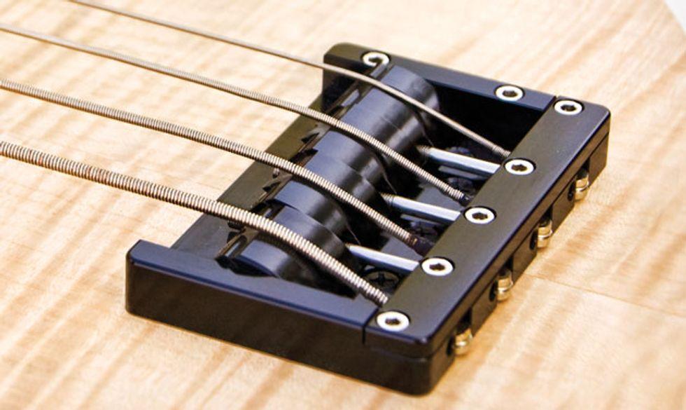 Bass Bench: Special Bridge Designs   Premier Guitar
