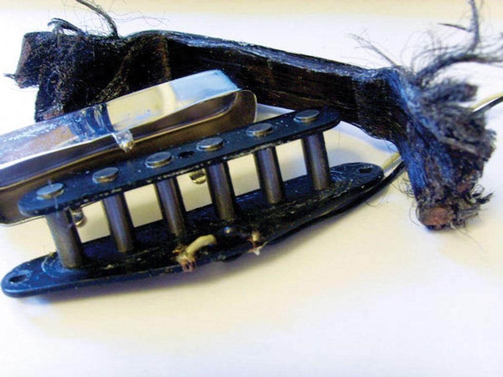 mod garage the infamous telecaster neck pickup premier guitar. Black Bedroom Furniture Sets. Home Design Ideas