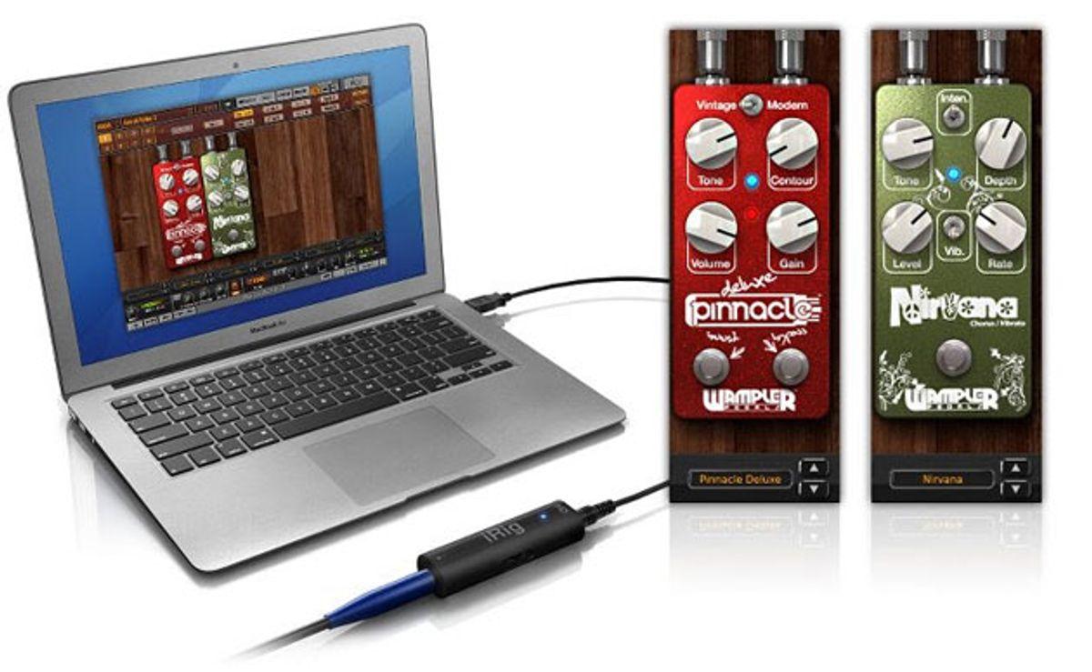 IK Multimedia Adds Wampler Pedals to Custom Shop