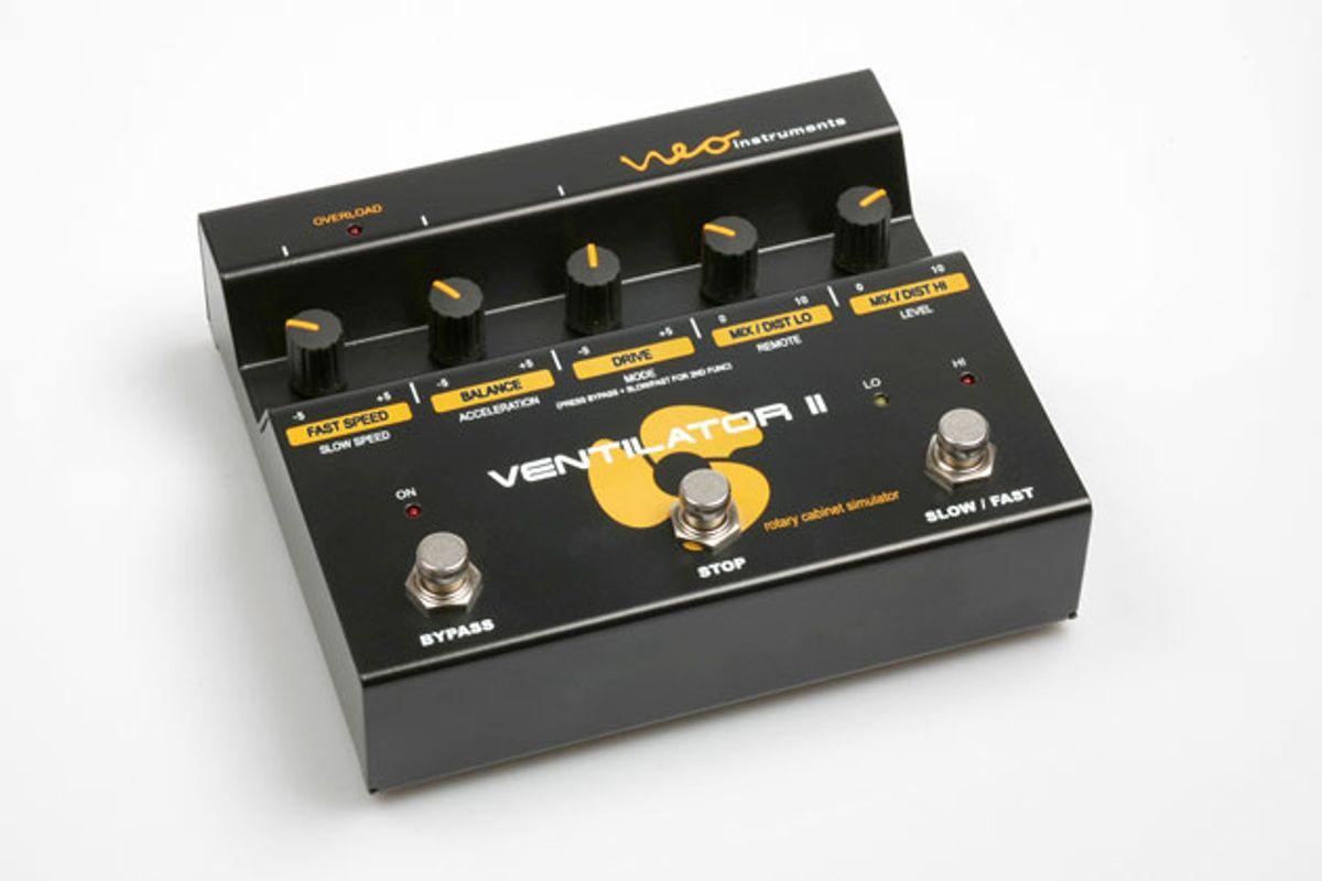 Neo Instruments Announces the Ventilator II