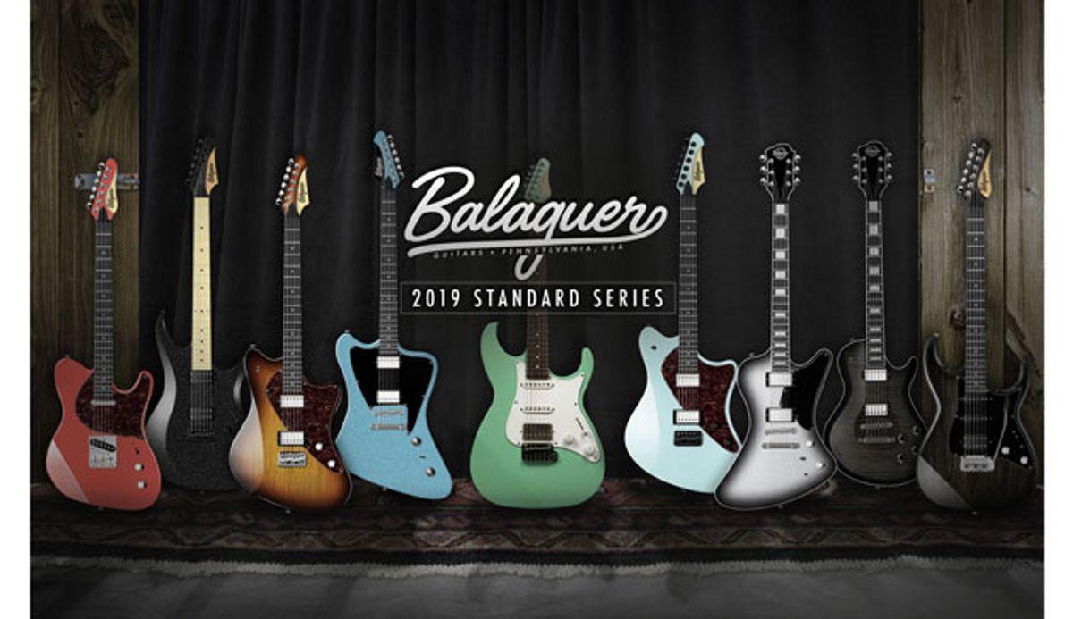 Balaguer Guitars Launches the Standard Series