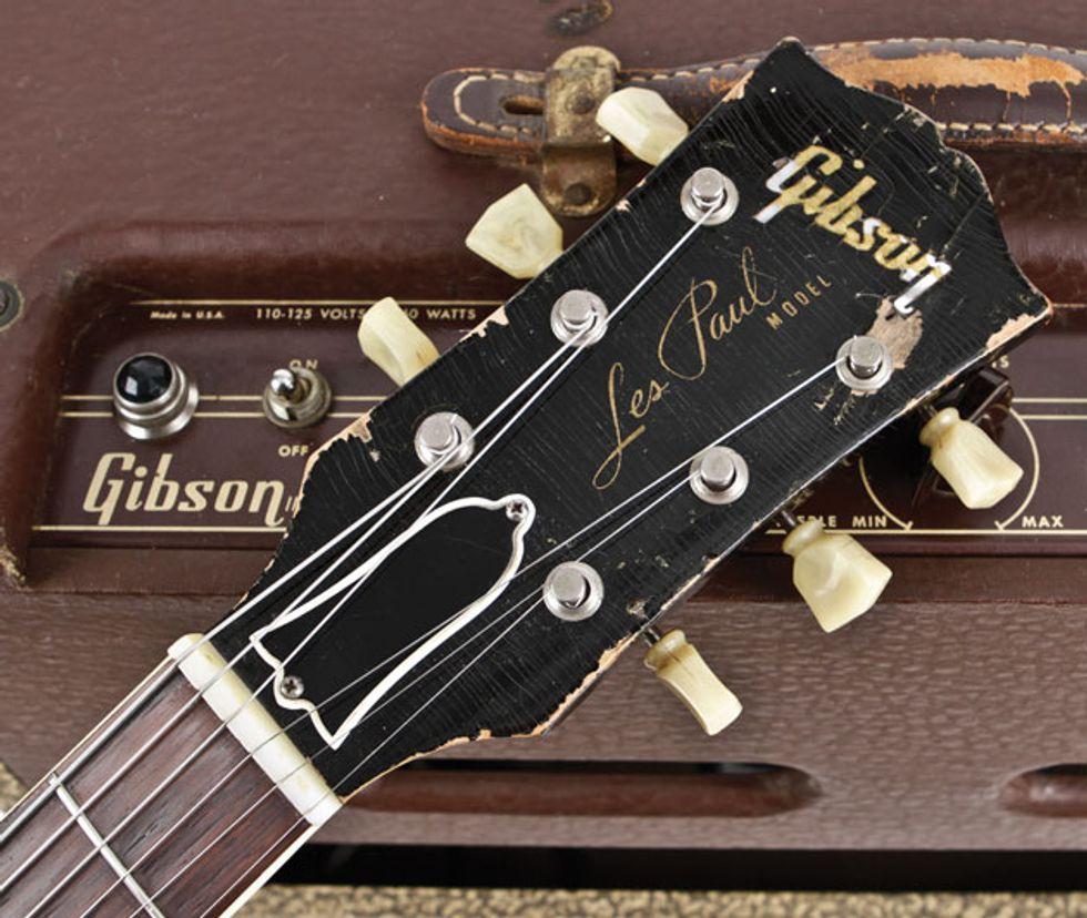 Vintage Vault: 1956 Gibson Les Paul Model | Premier Guitar
