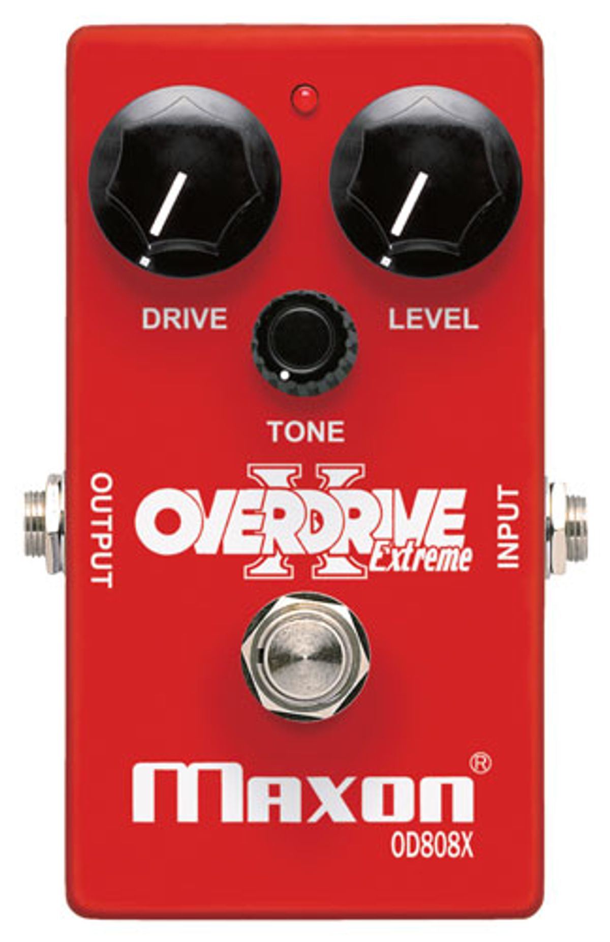 Maxon Releases the OD808X Overdrive Extreme