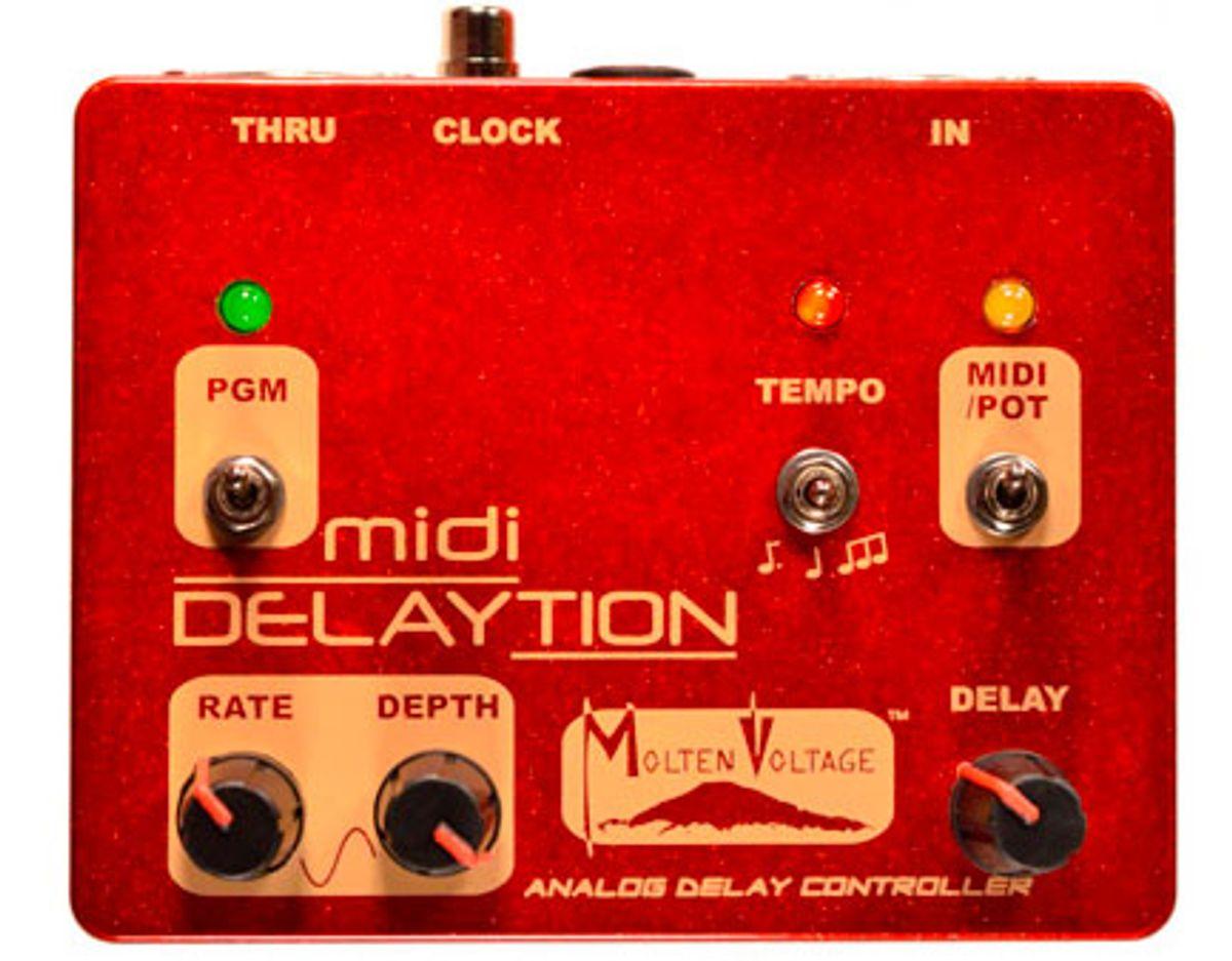 Molten Voltage Announces the MIDI Delaytion