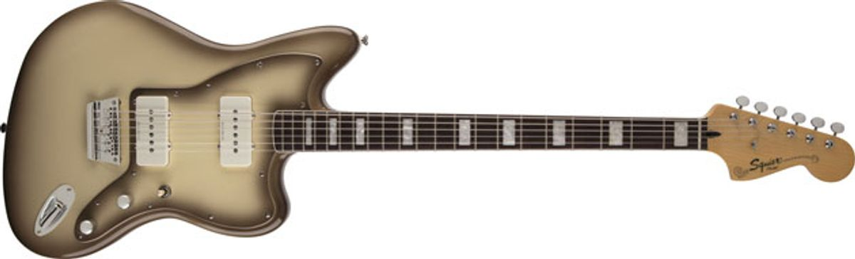 Squier Announces the Vintage Modified Baritone Jazzmaster