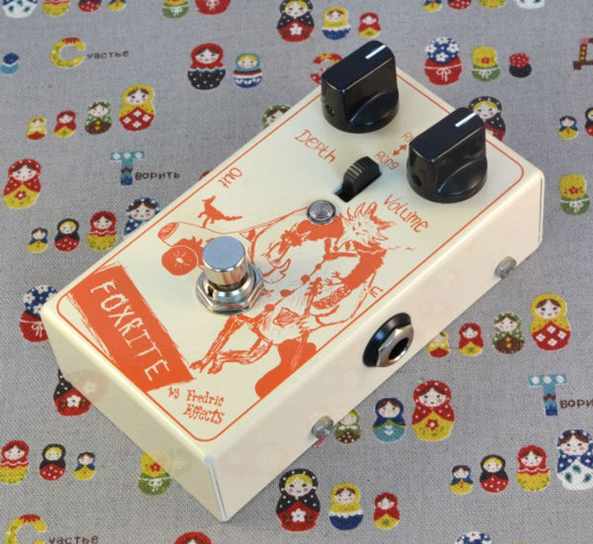Frederic Effects Announces the Foxrite MkII