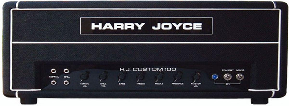 Harry Joyce Amplifiers Relaunch in the U.S.